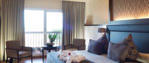tipo de habitaciones y decoracion del hotel be live saidia de 5* con todo incluido.