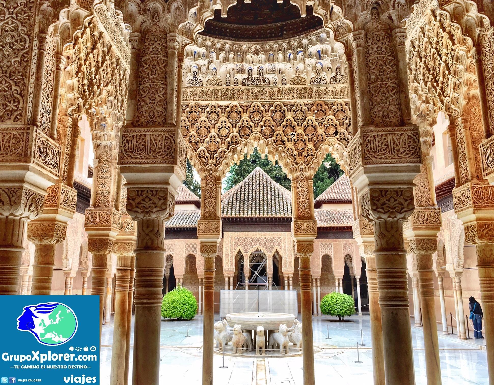 5 razones para visitar la alhambra en granada - Patios de granada ...