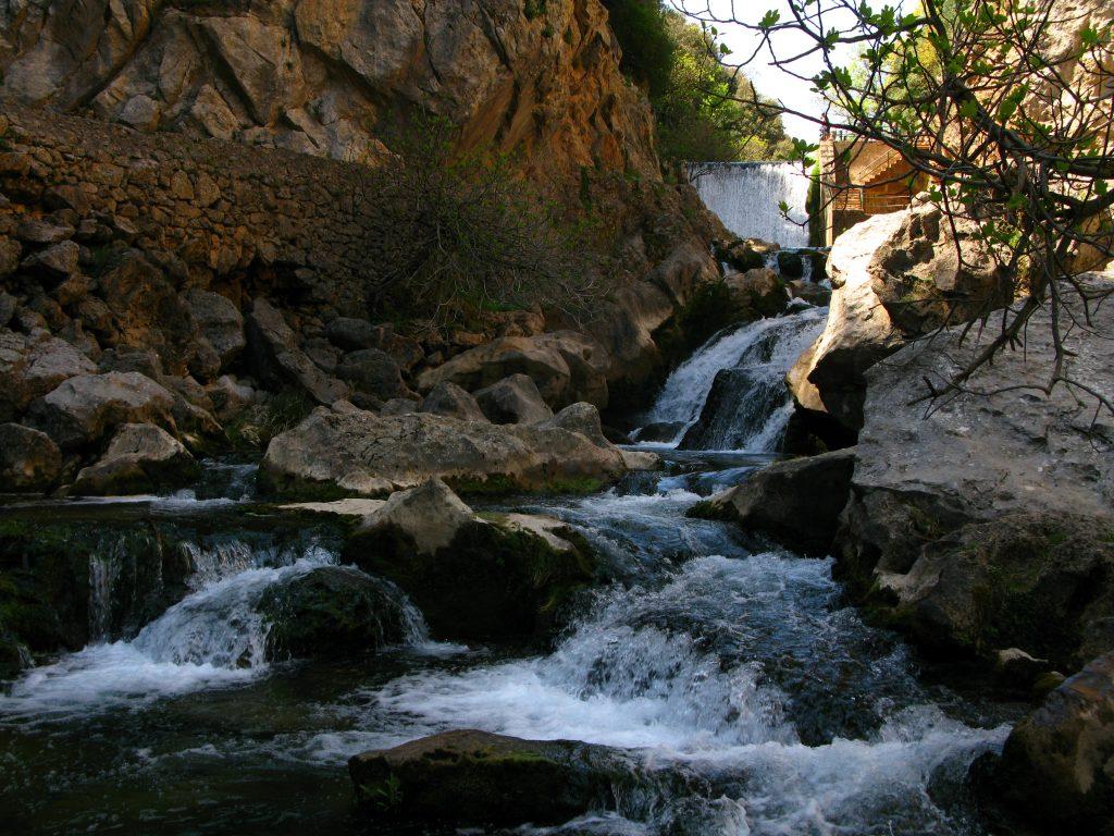 Río Guadalquivir en la Cerrada del Utrero - Sierra de Cazorla