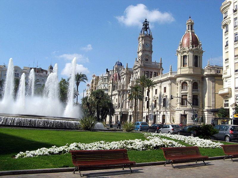 800px-Plaza_del_Ayuntamiento_de_Valencia