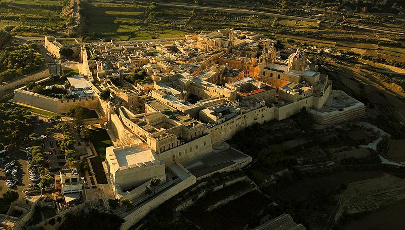 Aerial_view_Mdina,_Malta