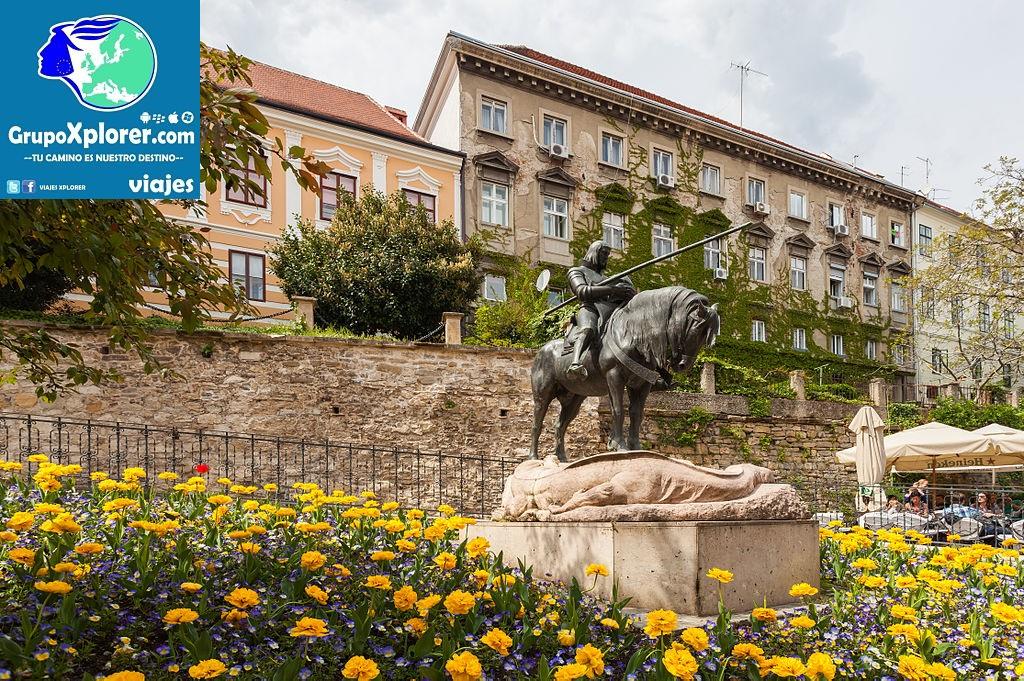 Estatua_de_San_Jorge_mató_al_Dragón,_Zagreb,_Croacia,_2014-04-13,_DD_01