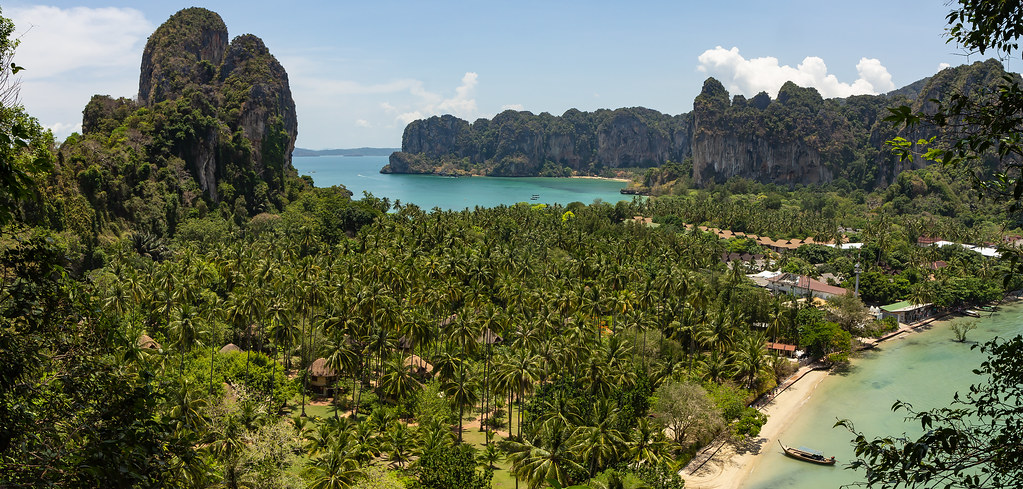 View from Railay View Point, Krabi Province, Thailand