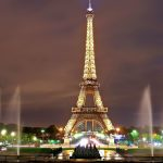 Eiffel-tower-lighted-at-night