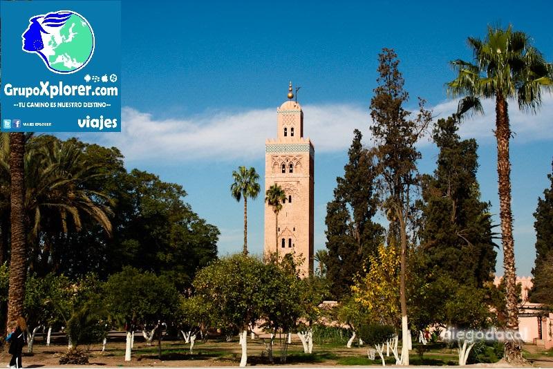 a maior mesquita de marrakech