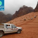 Desert Wadi Sand Wadi Rum Tourist Attraction