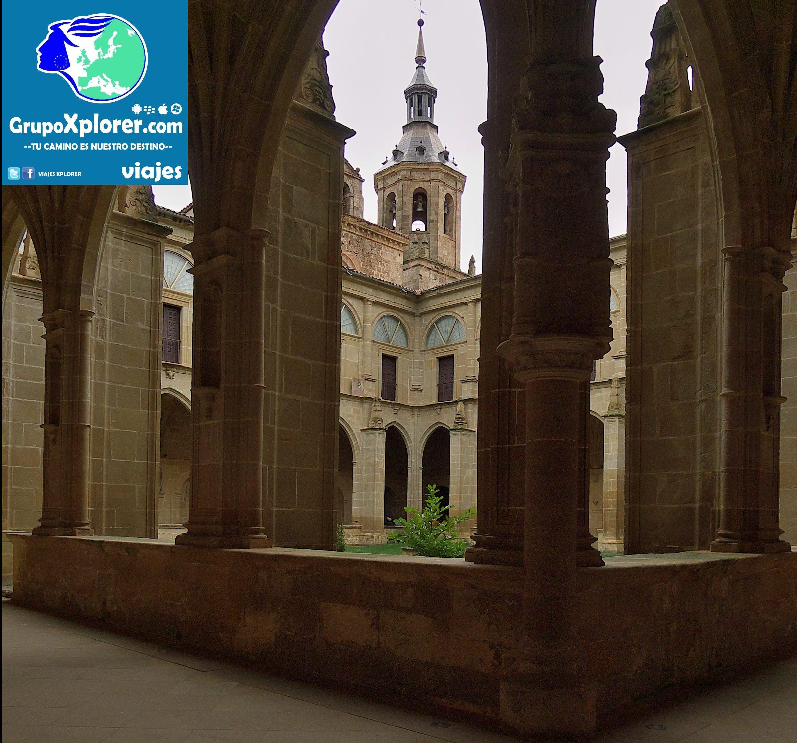 Monasterio_de_Yuso._Claustro