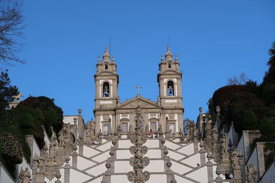 stairs-braga-church-portugal-travel-europe