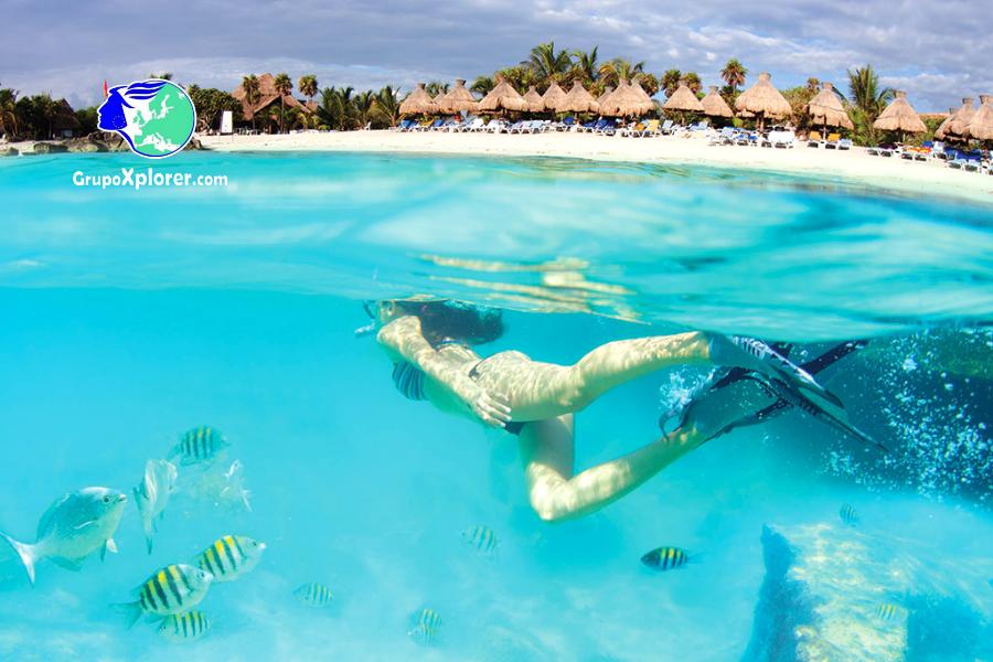 Hacer buceo en Riviera Maya con todo incluido