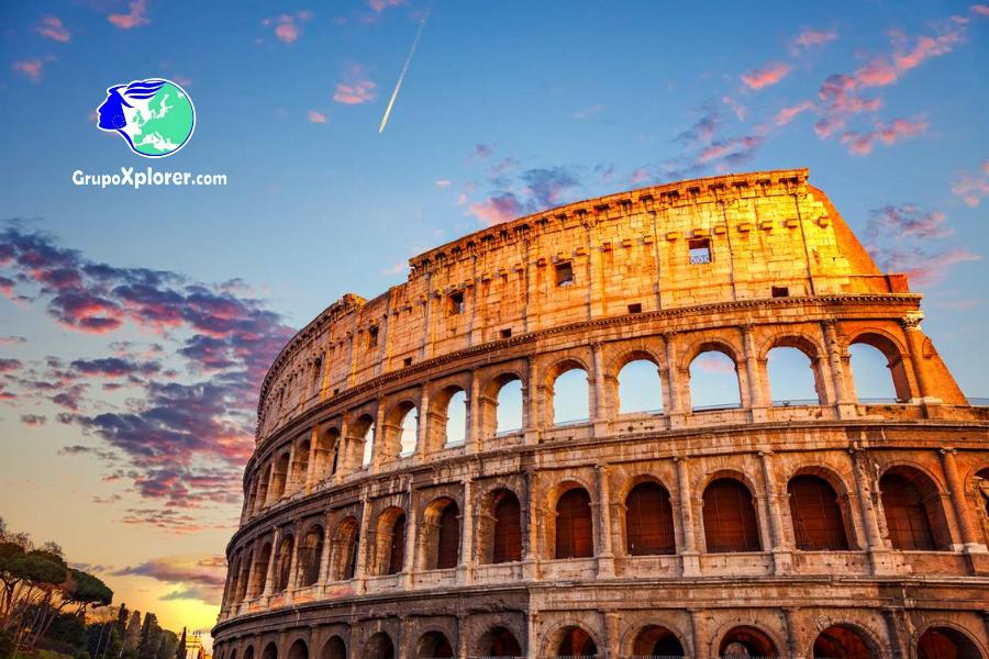 Descubre Roma - Coliseo romano con grupoxplorer