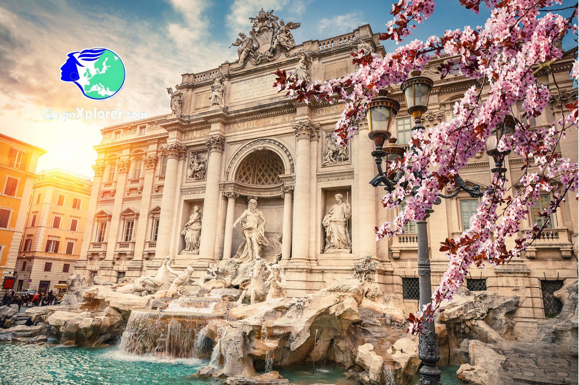 Descubre Roma Fontana de Trevi
