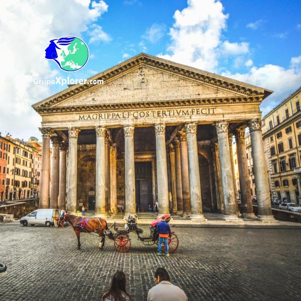 Descubre Roma - Pantheon- Grupoxplorer