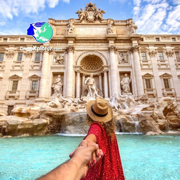 Descubre Roma - Fontana di Trevi con Grupoxplorer