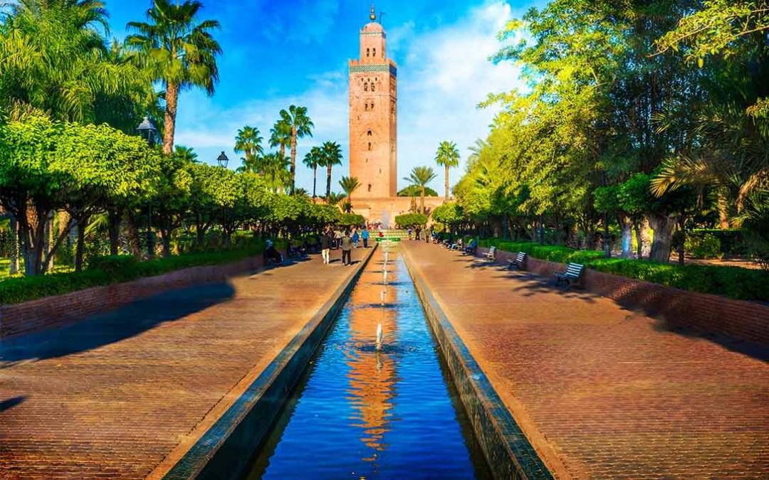 Marrakech. Puente del Pilar